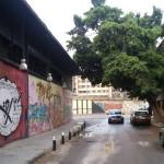 In front of Beirut Art Center