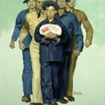 Norman Rockwell, Willie Gillis: Package from Home ($4.85M), Amazon Art