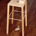 Sigmar Polke, Apparatus Whereby One Potato Can Orbit Another, 1969