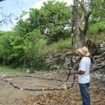 Coconut shell rosary, Casa Blanca