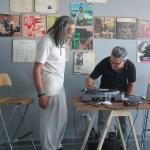 DJ with artist Felipe Dulhaizes, El Fosca