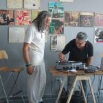 DJ with Felipe Dulzaides in FD play FD installation