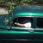 Mid-century American car, Havana