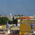 view from 4th floor, Old Havana rooftops