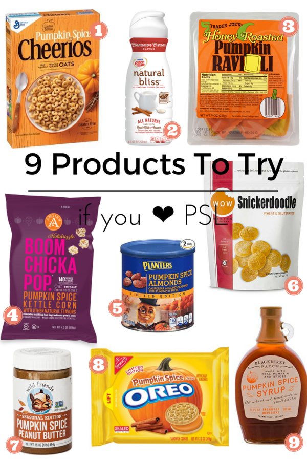 9 Products to Try if you Love PSL | Fresh Fit Florida
