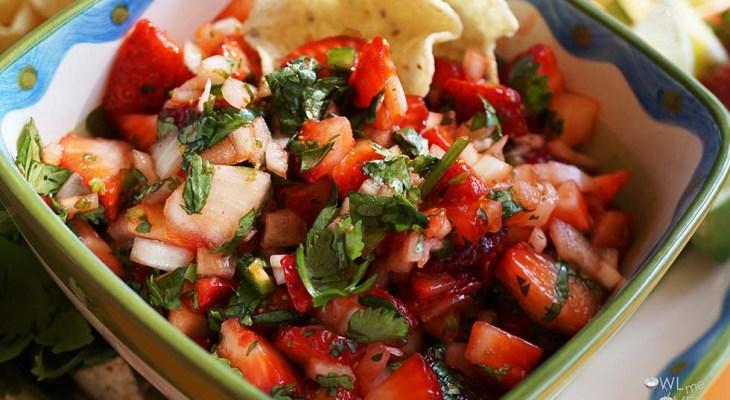 Cook Local – Strawberry Salsa