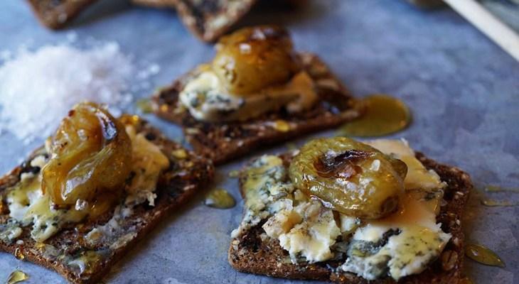 Cook Local – Roasted Grape Crostini