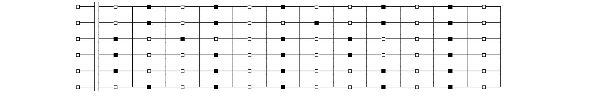 guitar fretboard chart black and white keys