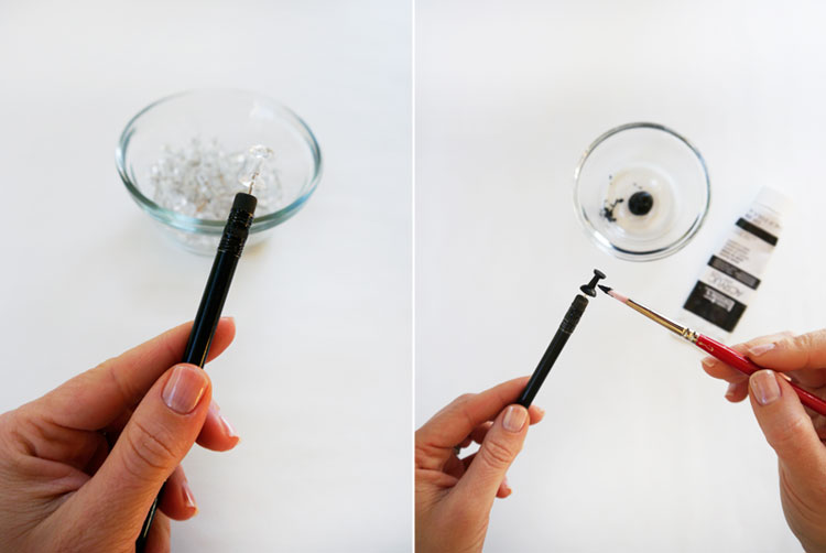 DIY-Glittered-Push-Pins-by-Freutcake-step-1-2