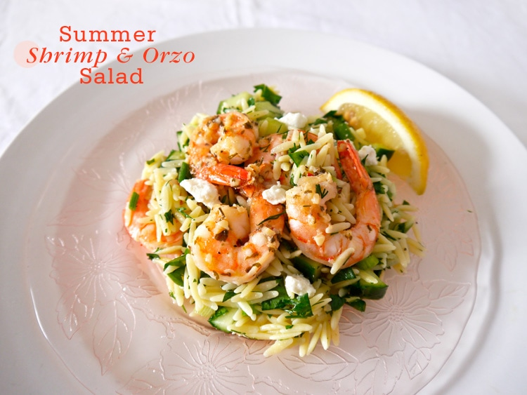Food Network Orzo Salad With Shrimp And Feta