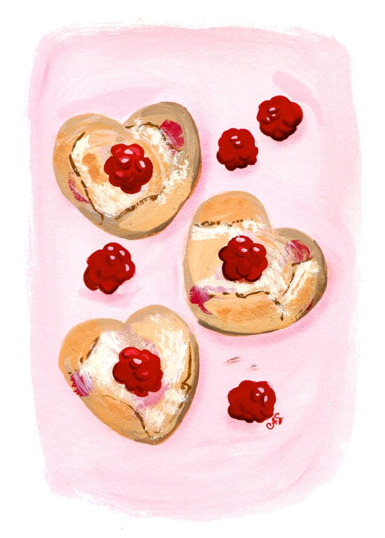 Raspberry-Scones-Freutcake