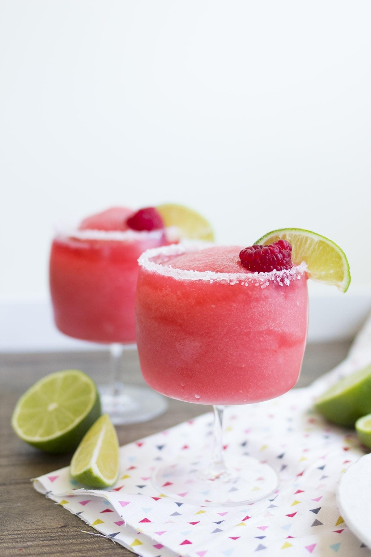 Raspberry Rose Margarita