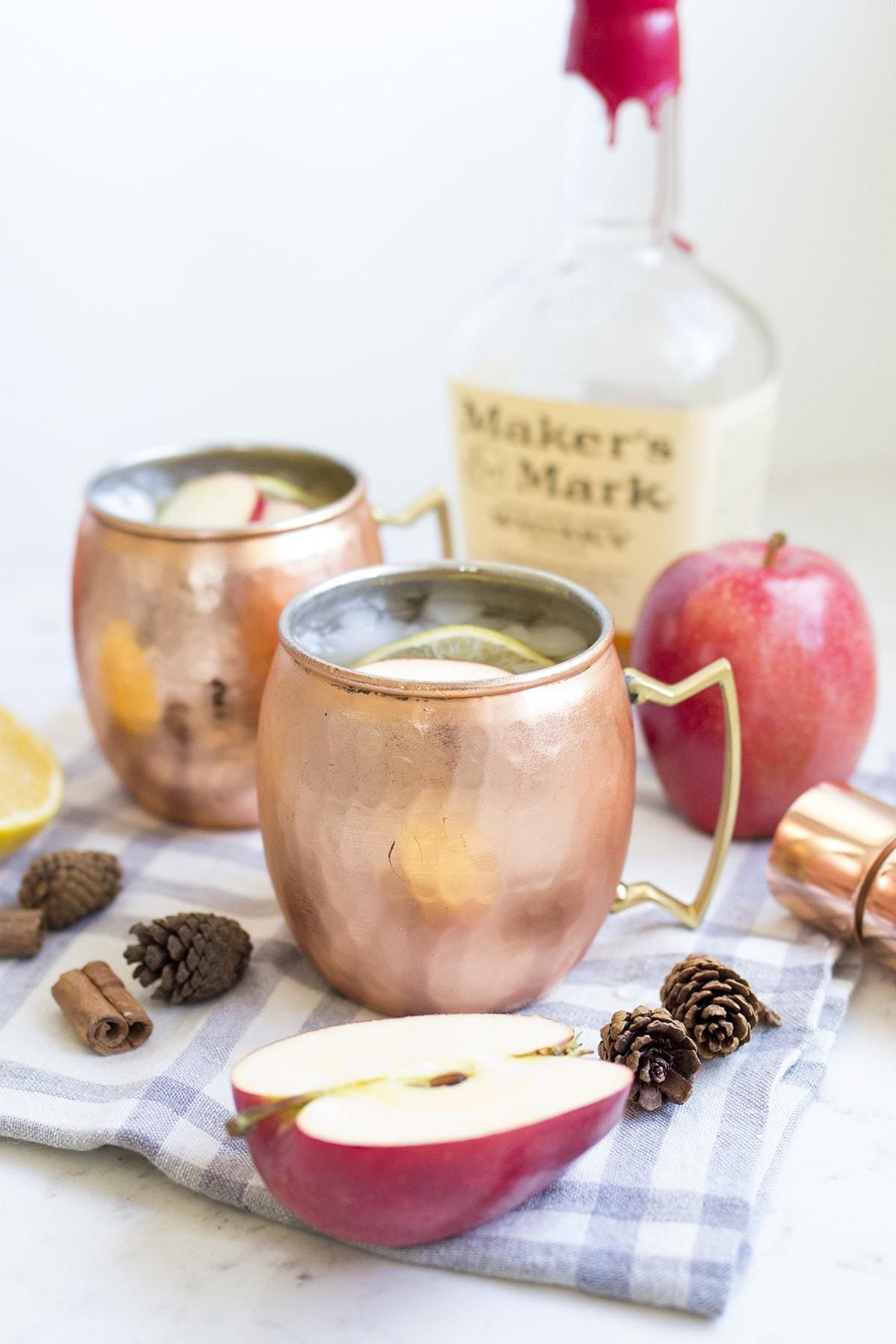 Bourbon Maple Apple Cider Cocktail Recipe
