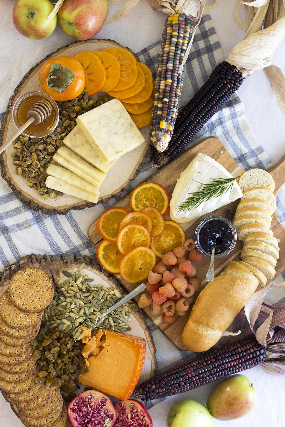Fall Inspired Cheese Board