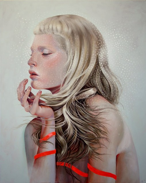 "painting ""Clouds"" by Martine Johanna"