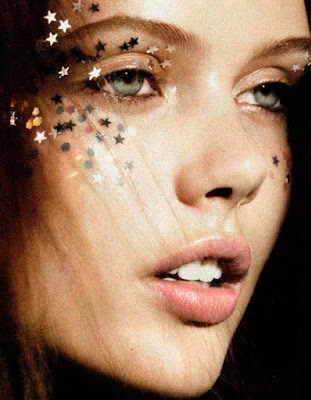 Frida Gustavsson starry make up
