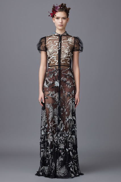 Valentino (Pre-Fall 2016) heron dress