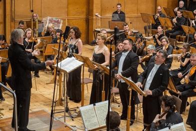 Eugenia Ralcheva – Sopran, Violeta Radomirska - Mezzosopran, Mihail Mihailov - Tenor und Ivaylo Djurov - Bass