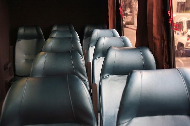 tour bus seats