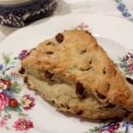 Date and Pecan Amish Friendship Bread Scones