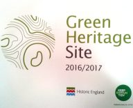 Green Heritage site award