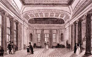Pittville Pump Room interior, 1838
