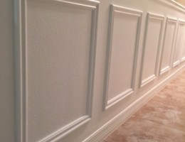 DIY Faux Wainscoting