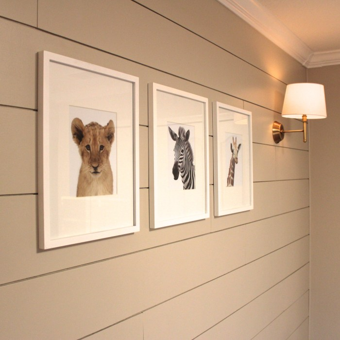 nursery animal prints