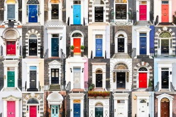 """Doors of the world: England"" (© André Vicente Gonçalves)"