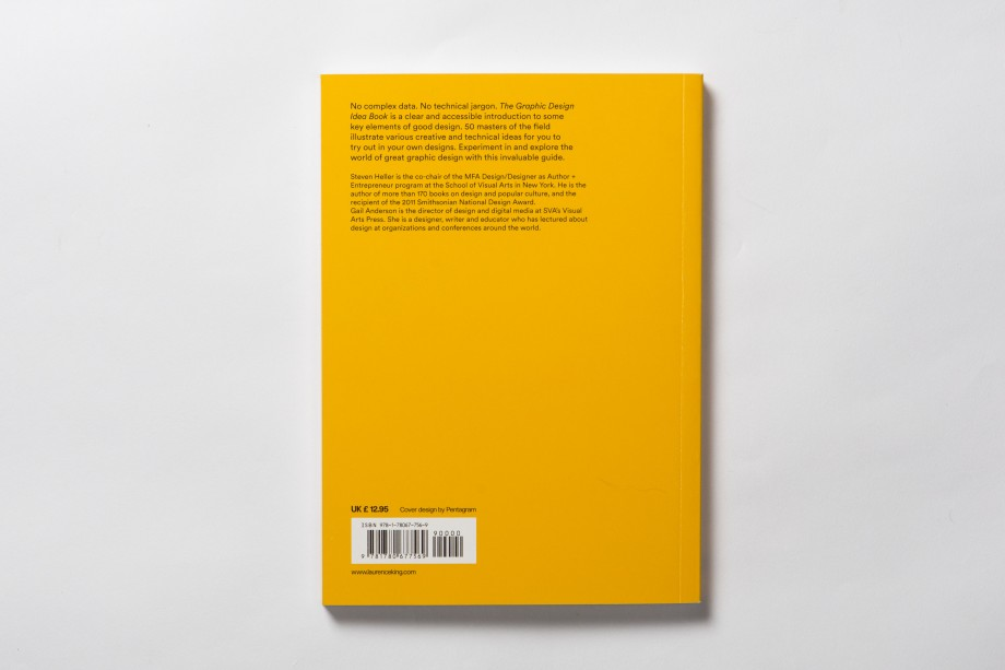 the graphic design idea book 50 grandi maestri e idee