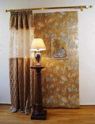 art interieur toile de jouy fr hlich wohnen berlin. Black Bedroom Furniture Sets. Home Design Ideas