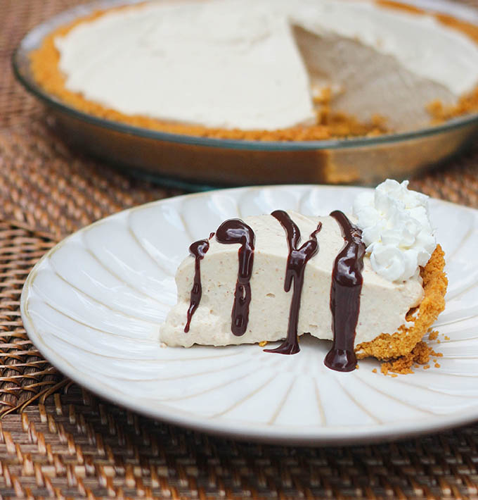 Sugar Free Peanut Butter Pie