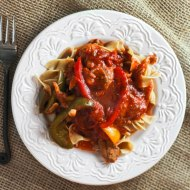 Chicken Cacciatore for Man Food Mondays