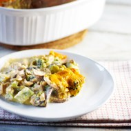 Broccoli and Mushroom Casserole