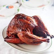 Smoked Orange Ginger Turkey for Man Food Mondays