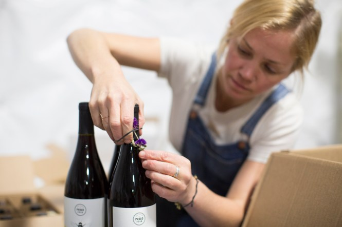 About Berlin Kelly and her organic wine company ProudPour