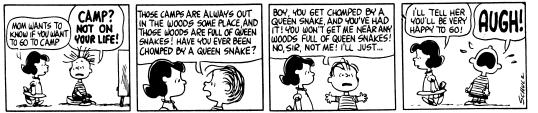 Peanuts AUGH!