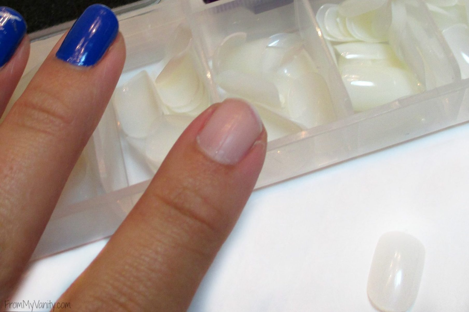 How to Fix a Broken Nail // Step 2: Find Nail Size // FromMyVanity.com