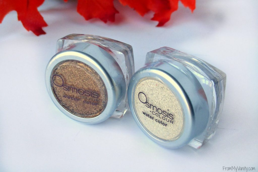 Osmosis +Colour Water Color Eyeshadow // Review & Swatches // Eyeshadows // #Osmosis #looseeyeshadow FromMyVanity.com