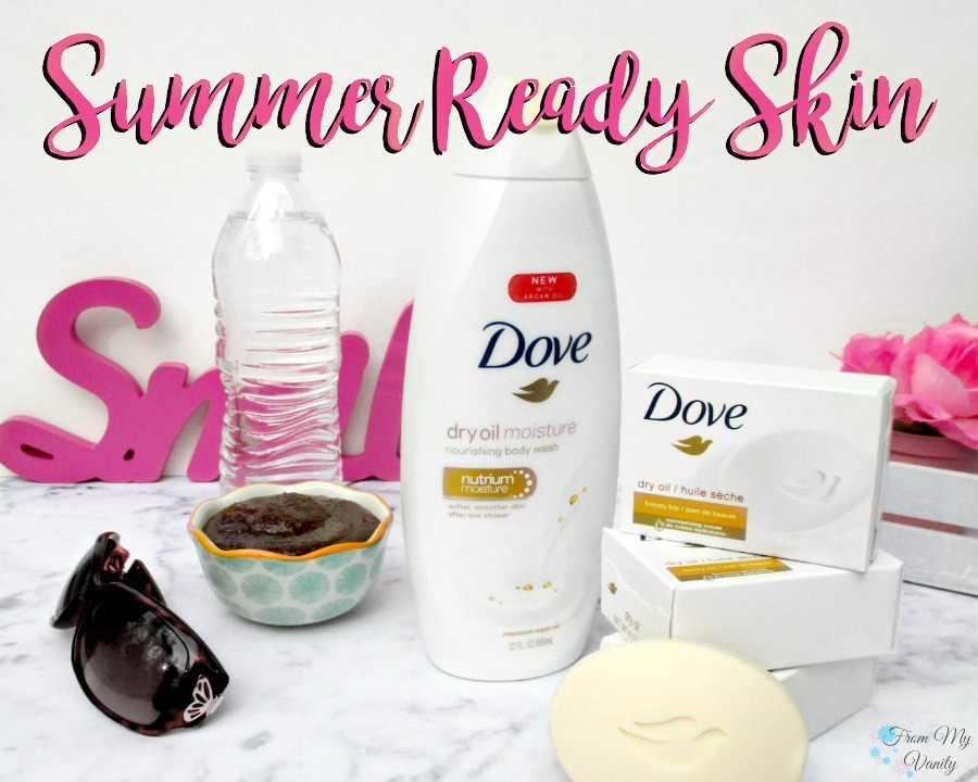 Summer is just around the corner and it's intense heat and beautiful beach days will be here before we know it. But, if you've been like me this past winter...I have really neglected to care for the dry skin on my body like I should.
