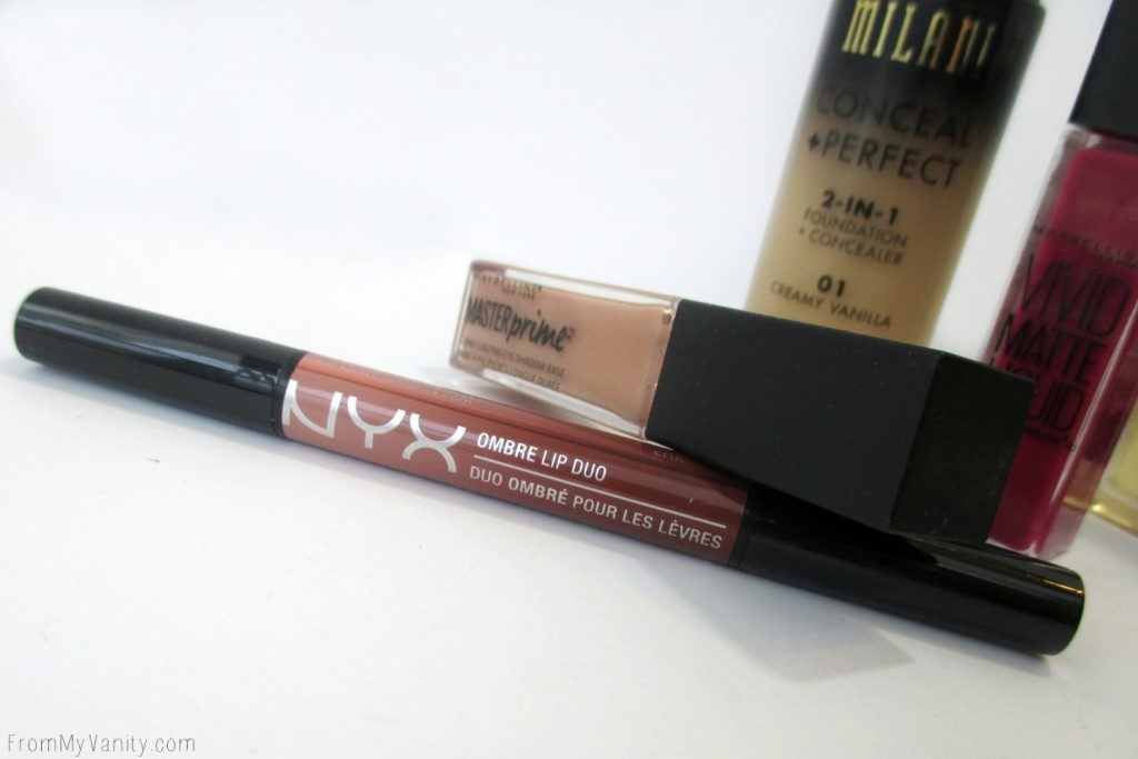 New Products from Milani, NYX Cosmetics, and Maybelline // Ombre Lip Duo in Ginger & Nutmeg // #Milani #Maybelline #NYXCosmetics // FromMyVanity.com @LadyKaty92