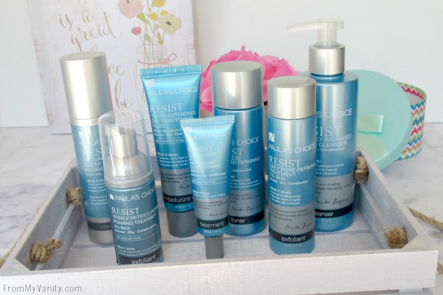 Check out this Resist Advanced Kit for Wrinkles + Breakouts set. You get so many fantastic products in this skincare set!