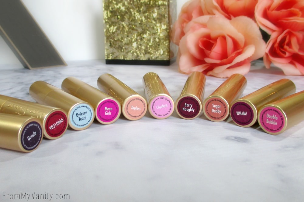 So beautiful! Makes me want to go buy all the new colors in the La Creme Color Drenched Lipstick line from Too Faced!