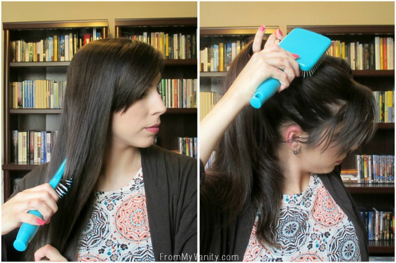 Easy Hack for 5 Minute Curls | Steps 1 & 2 | FromMyVanity.com
