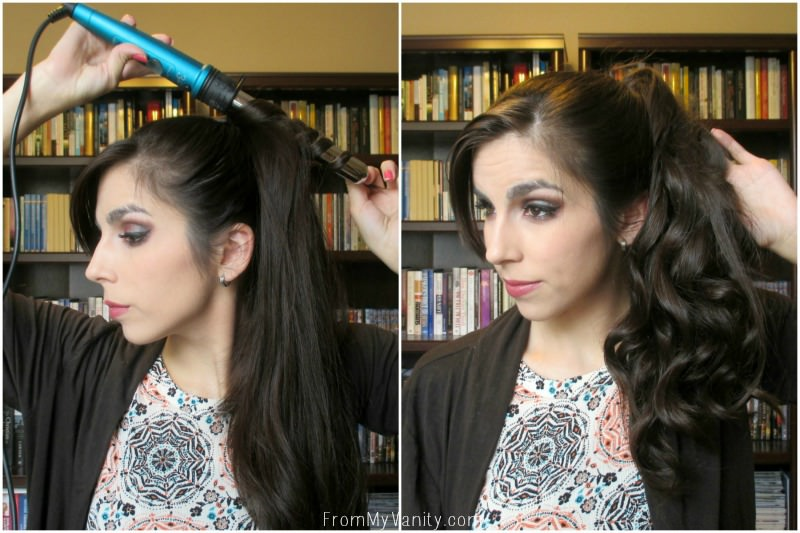 Easy Hack for 5 Minute Curls | Steps 5 & 6 | FromMyVanity.com