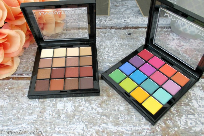NYX Ultimate Shadow palettes are gorgeous!