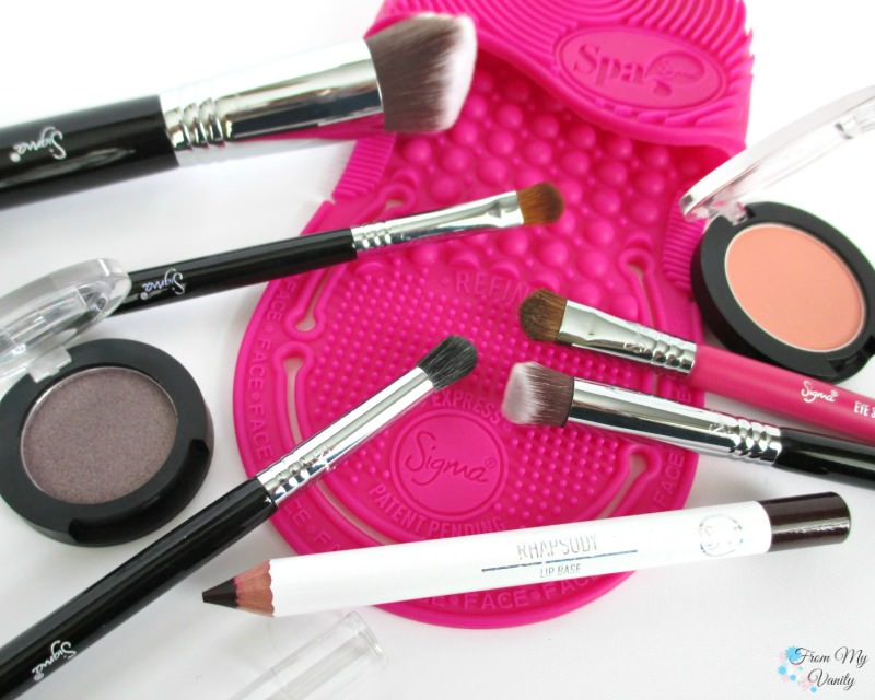 Sigma Beauty brushes and makeup!