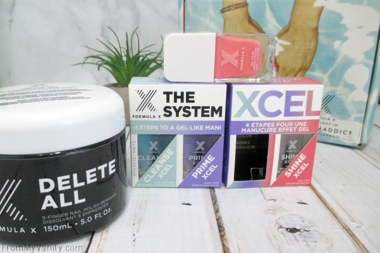 Formula X from Sephora released a new system called XCEL