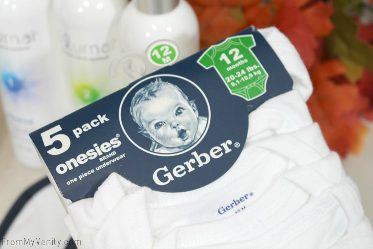 Gerber onesies are easy and affordable!