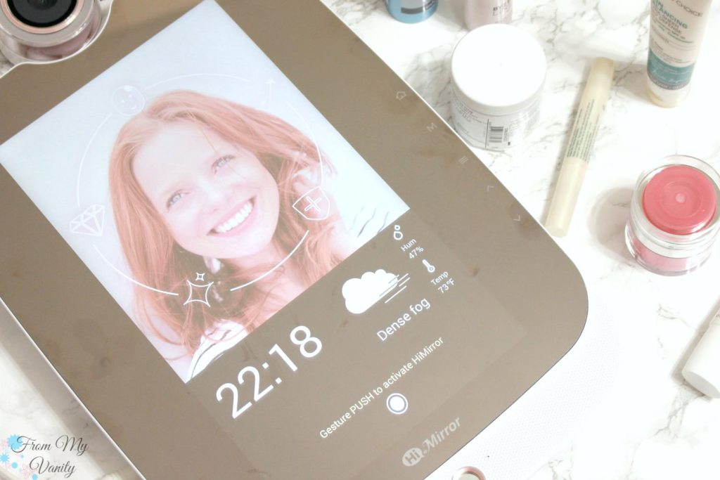 HiMirror: Smart Mirror, Smarter Beauty that gives you skincare tips